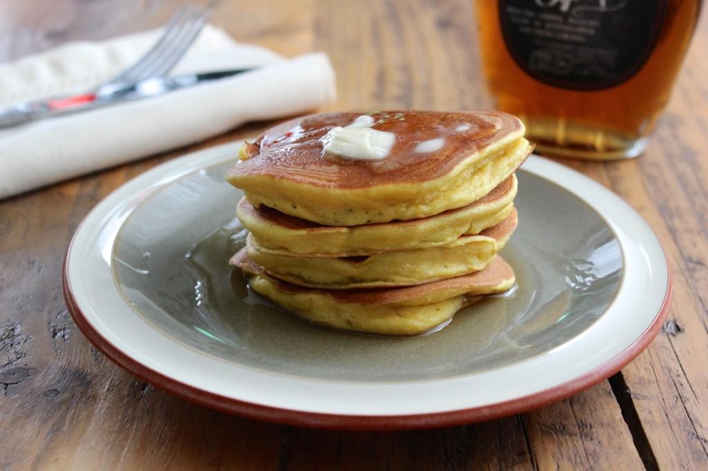 Dyniowe pancakes 1