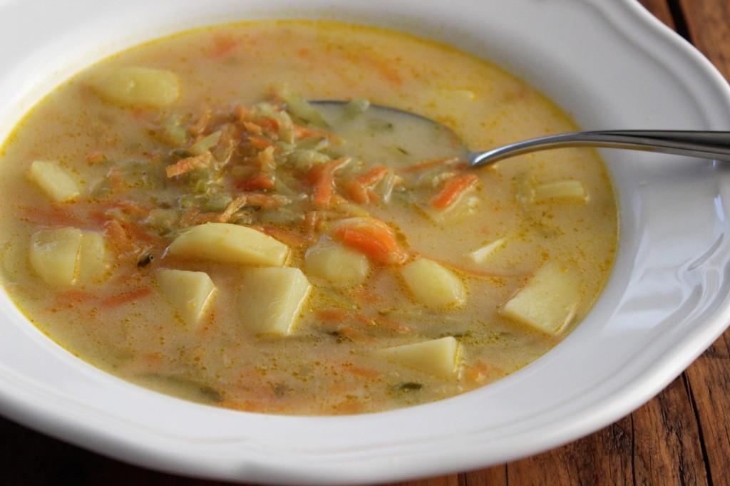 Zupa ogórkowa wege 3