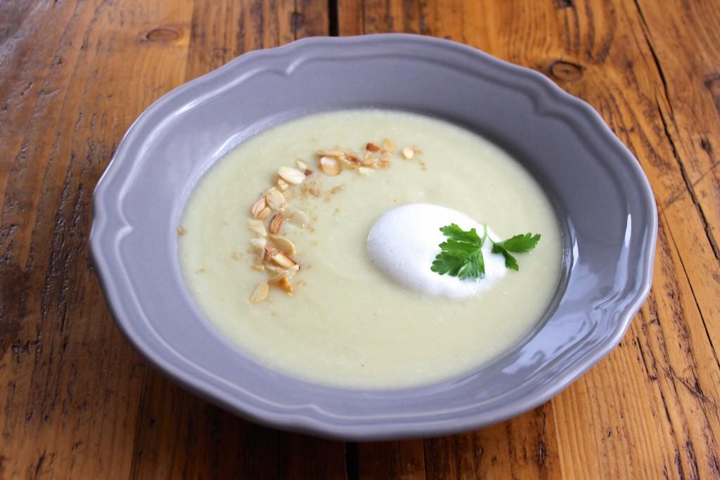 Krem z białych warzyw 1