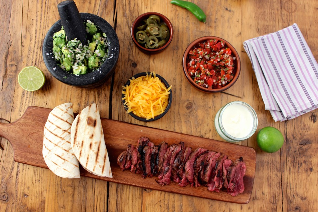 Skirt steak fajita 1