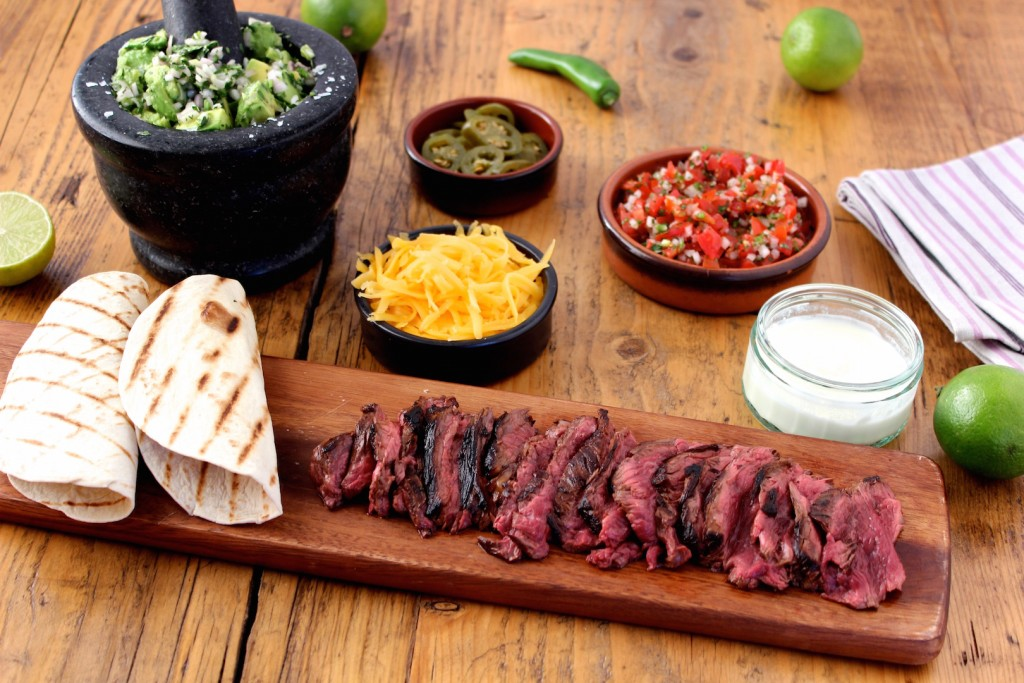 Skirt steak fajita 2