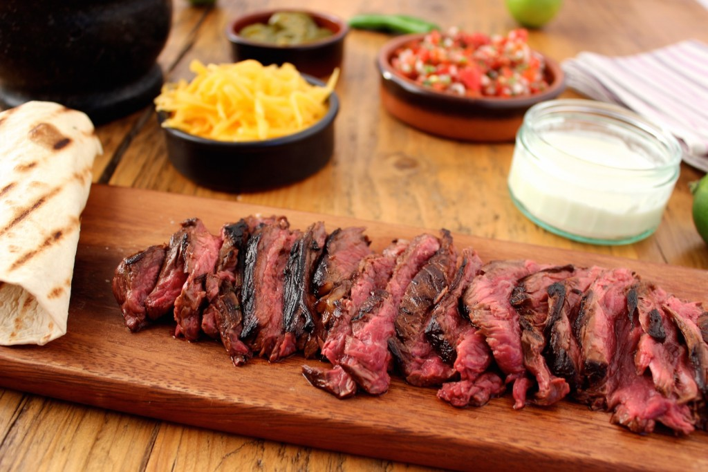 Skirt steak fajita 3