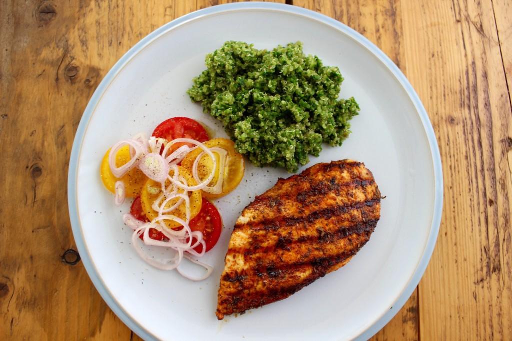 Grillowana pierś z kurczaka z quinoą 1