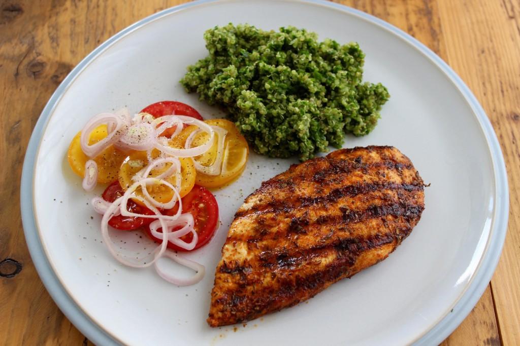 Grillowana pierś z kurczaka z quinoą 2