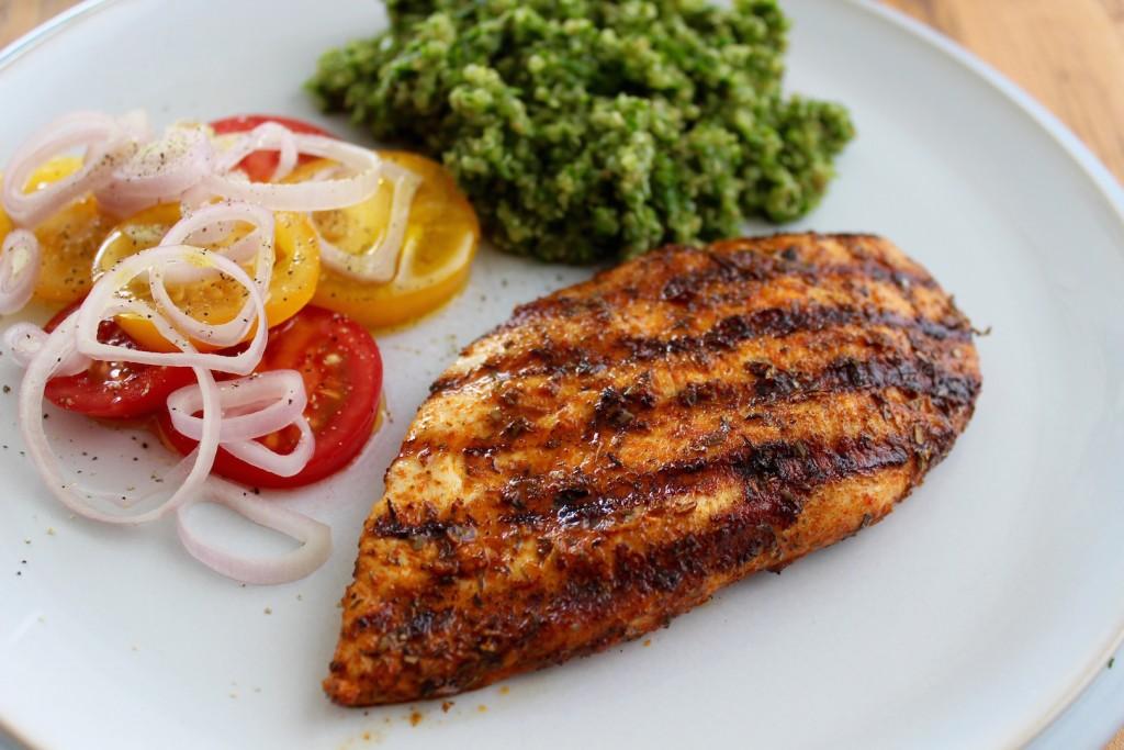 Grillowana pierś z kurczaka z quinoą 3
