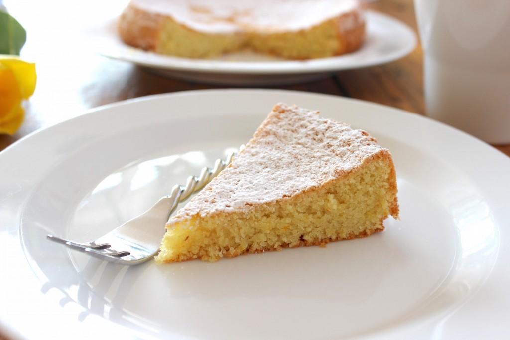 Tarta de Santiago – Ciasto migdałowa 2