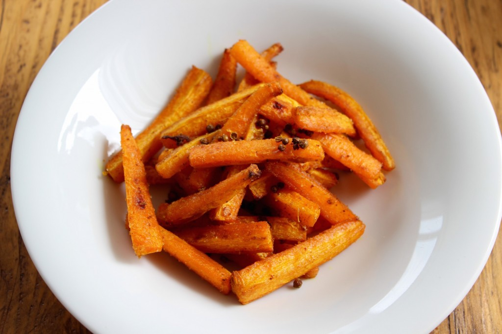 Pieczona marchewka 2