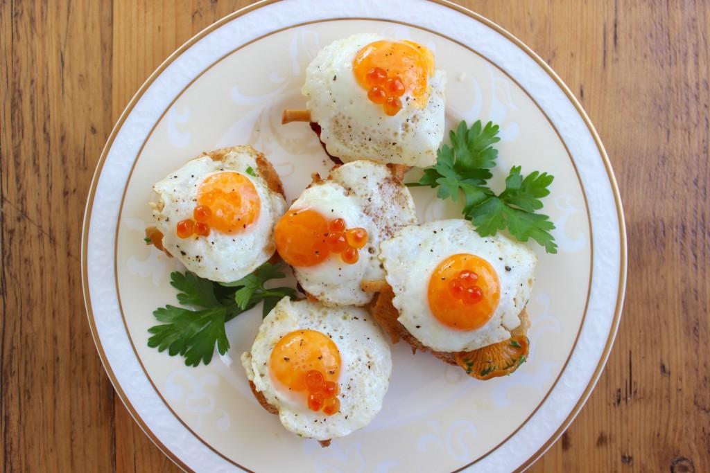 anapeczki z kurkami jajkami przepiorczymi 3