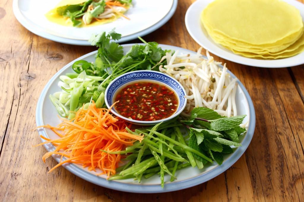 Bánh xèo– Wietnamskie naleśniki 2